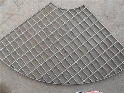扇形钢格栅板
