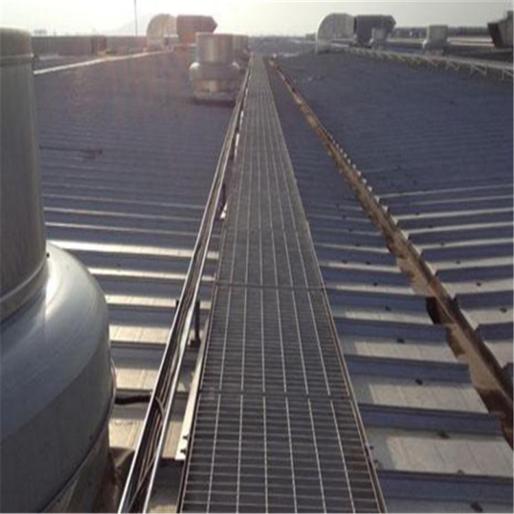 宁波化工厂平台钢格栅板安装
